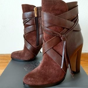 Vince Camuto Charisa brown boots